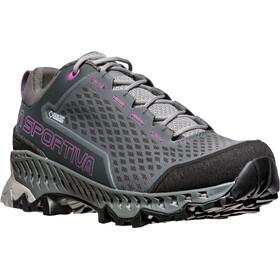 La Sportiva Spire GTX Surround Shoes Damen carbon/purple